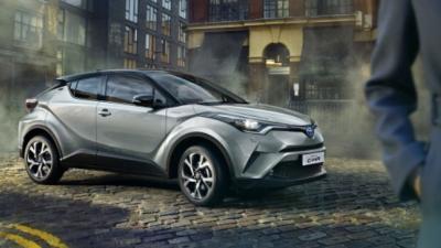 Nieuwe crossover van Toyota