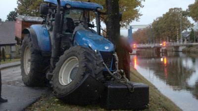 Ongeval met landbouwvoertuig in Drentse Erica