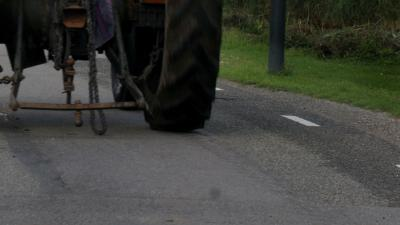 Dode in Ysselsteyn bij aanrijding fietser met tractor