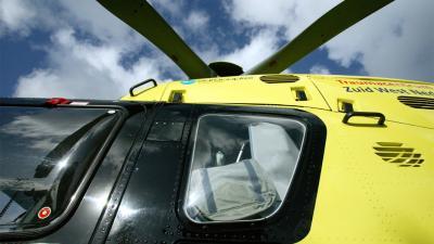 foto van traumahelikopter | fbf