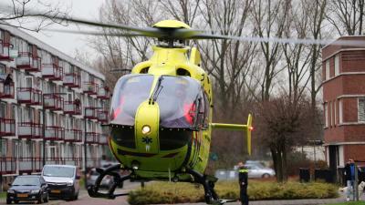 Traumahelikopter ingezet bij medische noodsituatie Vlaardingen
