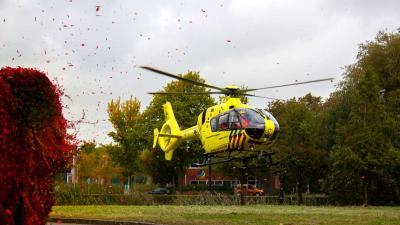 Traumahelikopter opgeroepen voor reanimatie in Vlaardingen