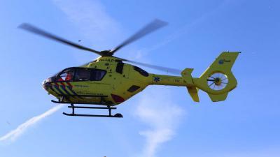 Traumateam ingevlogen voor ongeval in nieuwbouwwoning Vught