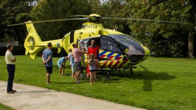 Piloot traumahelikopter heeft tijd voor uitleg
