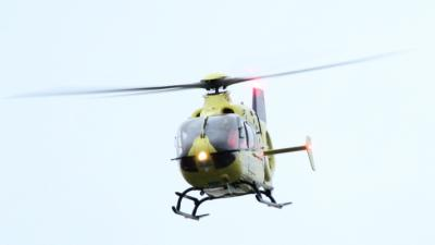 Foto van traumahelikopter   MV Blik op Nieuws