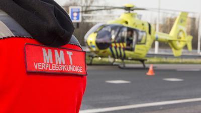 Vrouw zwaargewond bij aanrijding A4 Schiedam