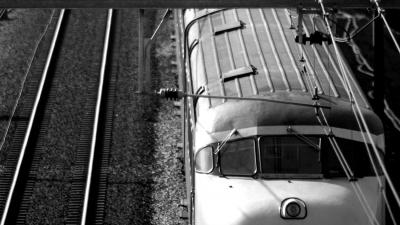 trein-zwartwit
