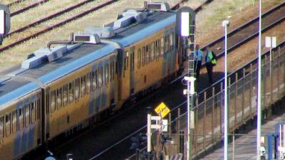 trein, spoor, aanrijding
