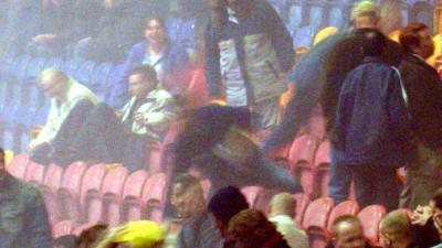 Foto van tribune Arena Ajax | Archief EHF