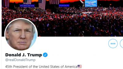 Twitteraccount Donald Trump