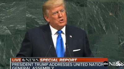 Trump dreigt met 'totale vernietiging Noord-Korea'