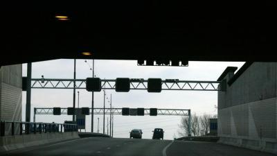 foto van tunnel | fbf archief