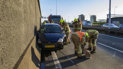Beneluxtunnel dicht na ongeval A4