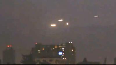 UFO's boven Chileense stad Santiago