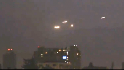 UFO's boven Chileense stad Santiago
