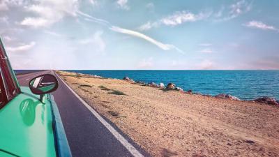 vakantie-auto-zee