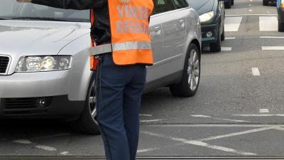 foto van verkeersregelaar | fbf archief