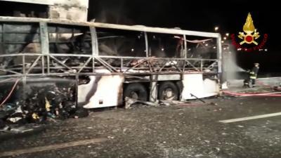Scholieren komen om het leven bij ongeluk met Hongaarse schoolbus in Italië