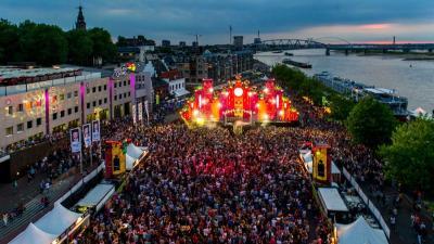 Bezoekersrecord van 1.5 miljoen bezoekers Vierdaagsefeesten Nijmegen
