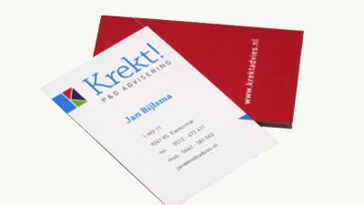 Bedrijf beginnen? Wat zet je allemaal op je visitekaartje?