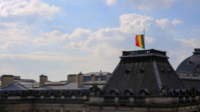 België kondigt drie dagen nationale rouw af