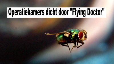 Operatiekamers dicht door ''Flying Doctor''