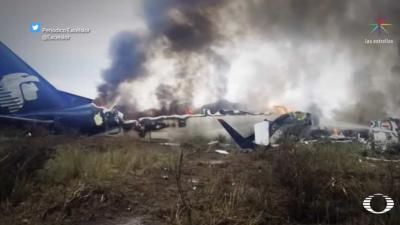 Alle 103 passagiers overleven vliegramp