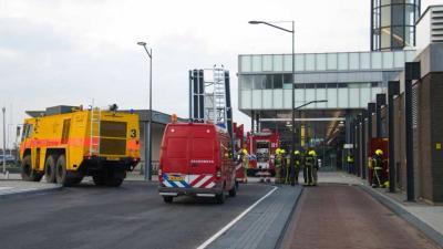 Vliegverkeer Rotterdam enige tijd stilgelegd om rook verkeerstoren