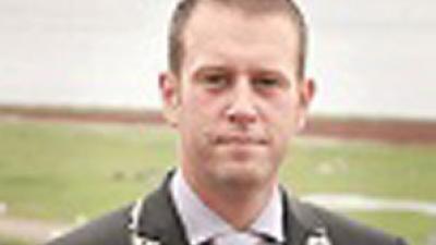foto van burgemeester   Gem. Vlieland