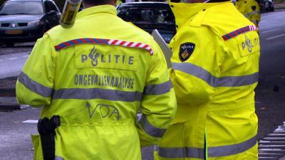 Foto van VOA politie verkeersongeval | Archief EHF