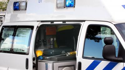 Foto van politie VOA ongeval   Archief EHF