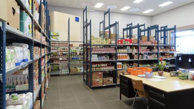 Magazijn voedselbank Eemsdelta