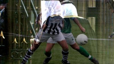 Foto van voetbal en oliesjeiks | Archief EHF