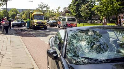 Fietsers door onwel geworden automobilist aangereden in Vlaardingen