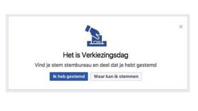 Ministerie BZK zet Facebook in om Nederlanders naar de stembus te lokken