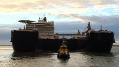 Extra diep gebaggerd voor grootste vrachtschip ter wereld in Rotterdam