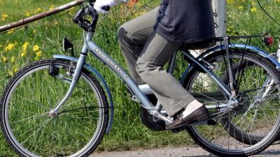 Foto van vrouw op fiets | Archief EHF