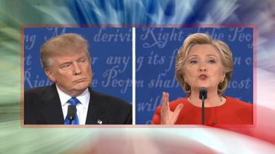 Wordt het Clinton of toch Trump?