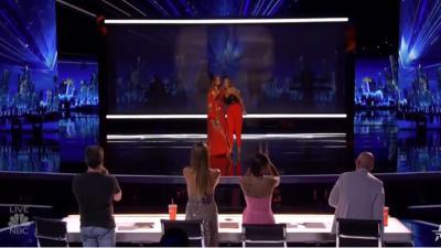 Glennis Grace in de finale van America's Got Talent