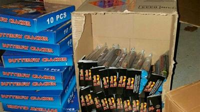Tips leiden tot vondst 60 kilo en 200 kilo zwaar illegaal vuurwerk