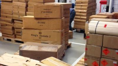 Duitser (28) runde illegale distributielijn van verboden vuurwerk