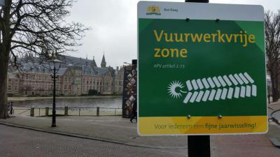 Geen vuurwerk meer in Rotterdam. Nu de Haagse politiek nog