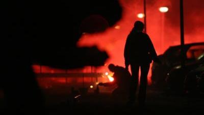 Foto van afsteken vuurwerk | Archief EHF