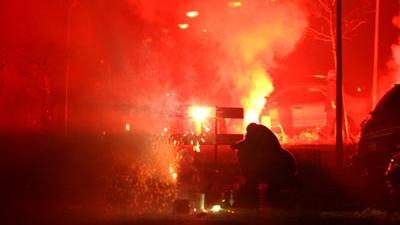 Foto van vuurwerk jaarwisseling | Archief EHF