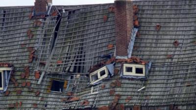 foto van vuurwerkramp Enschede | fbf archief