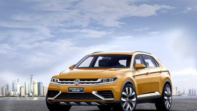 Foto van VW Crossblue Coupe auto   VW