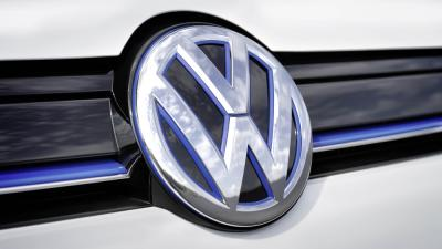 Foto van VW-embleem BLUE | VW