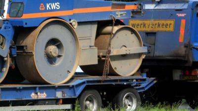 wals-asfalt-wegwerkzaamheden