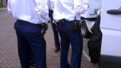dienstwapen, politie, schot