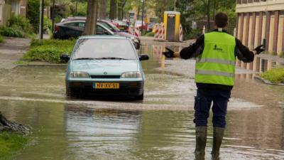 Foto van overstroming straten | Flashphoto | www.flashphoto.nl